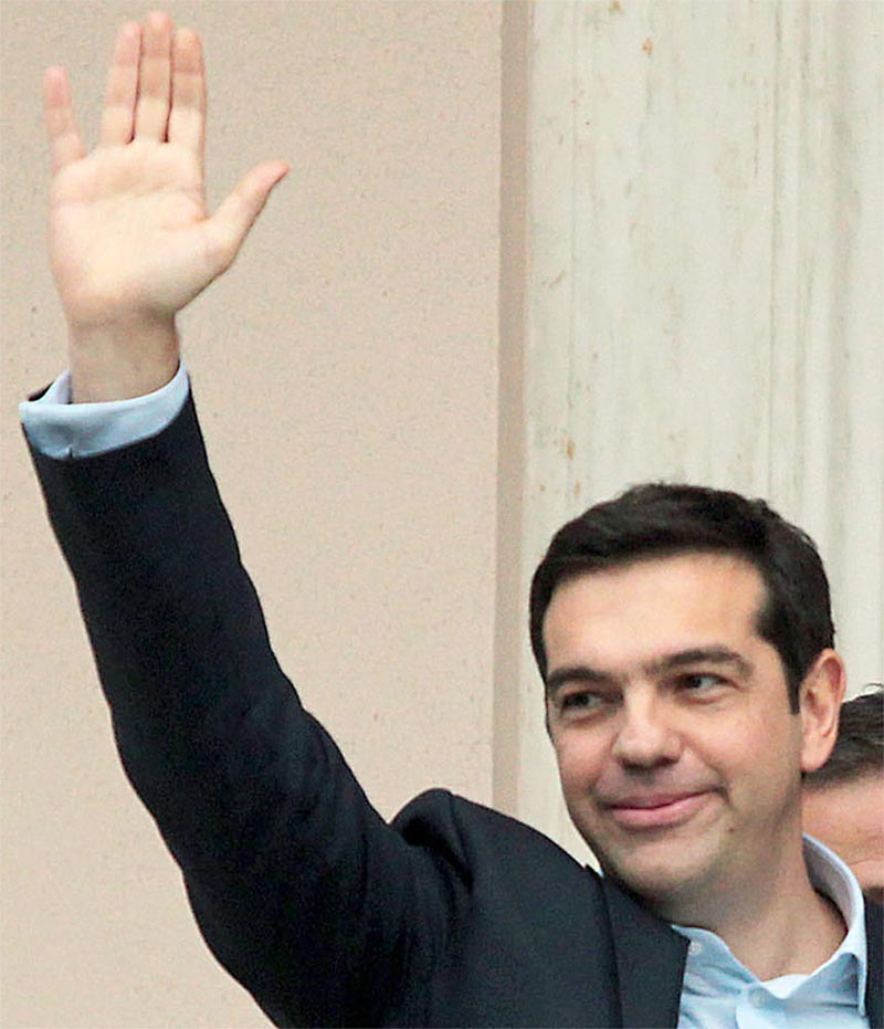 Into the hands of Alexis Tsipras, Greece prime minister Alexis10