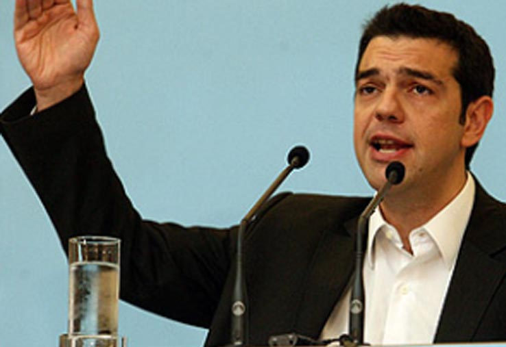 Into the hands of Alexis Tsipras, Greece prime minister Alexis12