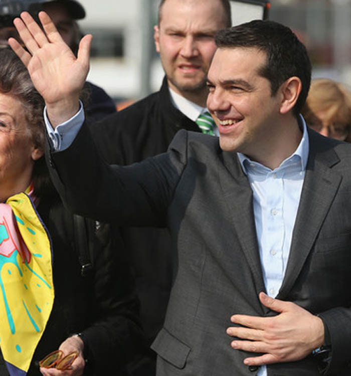 Into the hands of Alexis Tsipras, Greece prime minister Alexis13