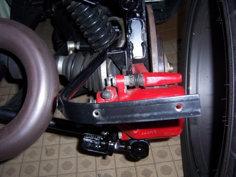 rotules arrieres pliées Chassis EVO 100_6316