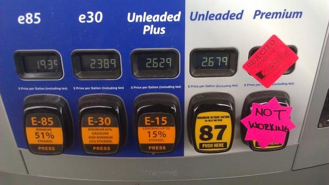 Fuel Choices (WTH?) Gasgra10