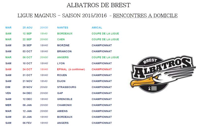 Ligue Magnus 2015 - 2016  Matchs10