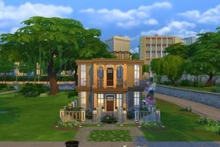 EQCreations Sims 4 Properties & Rooms De1da710