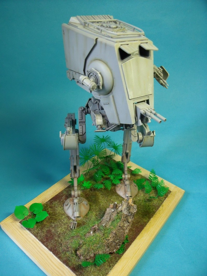 """Star Wars """"AT-ST"""" 1/48 bandai      """"   terminé"""" page 5 - Page 3 Dscf4310"""