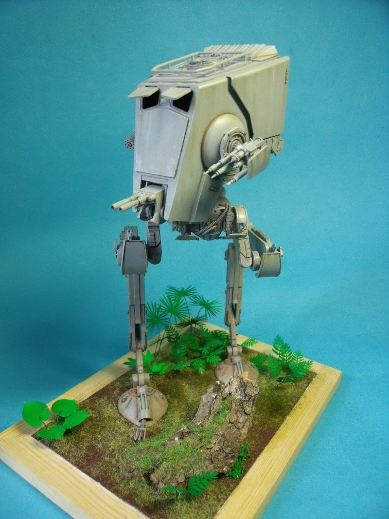 """Star Wars """"AT-ST"""" 1/48 bandai      """"   terminé"""" page 5 - Page 3 Dscf4311"""