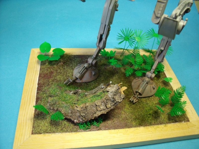 """Star Wars """"AT-ST"""" 1/48 bandai      """"   terminé"""" page 5 - Page 3 Dscf4314"""