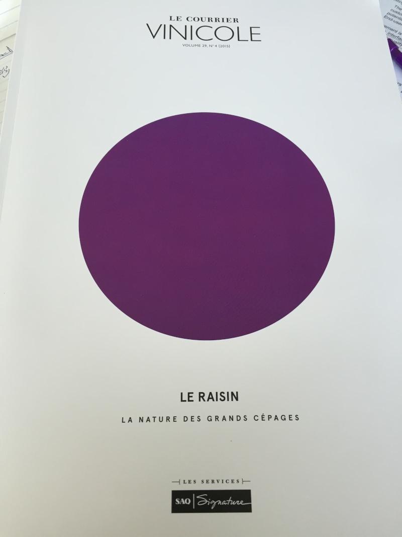 """Courrier Vinicole: """"Le Raisin: La Nature des Grands Cépages"""" Img_6913"""