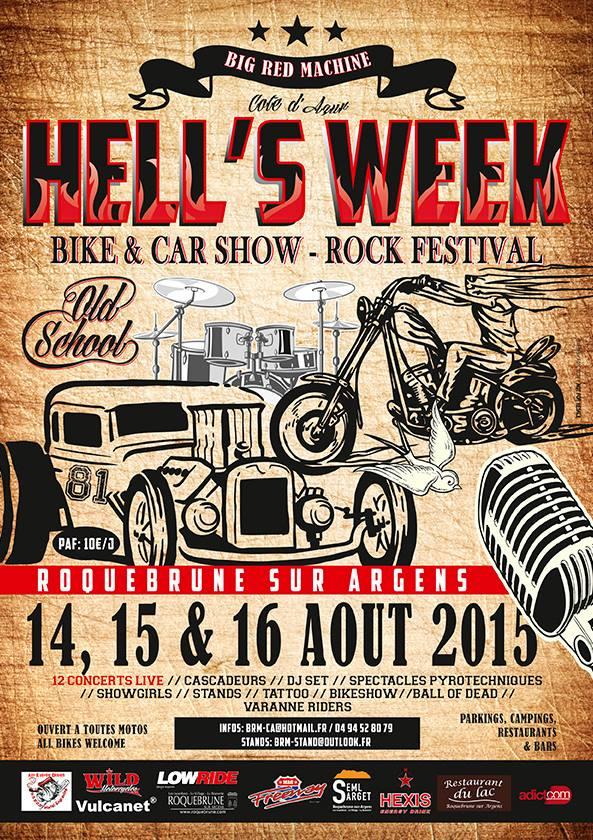 MANIFESTATION - Hells's Week 14,15,16 Août 2015 83 Roquebrune sur argens 11745510