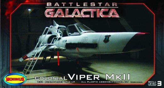 [moebius-1/32°] Colonial Viper Mk II 71j-4k10