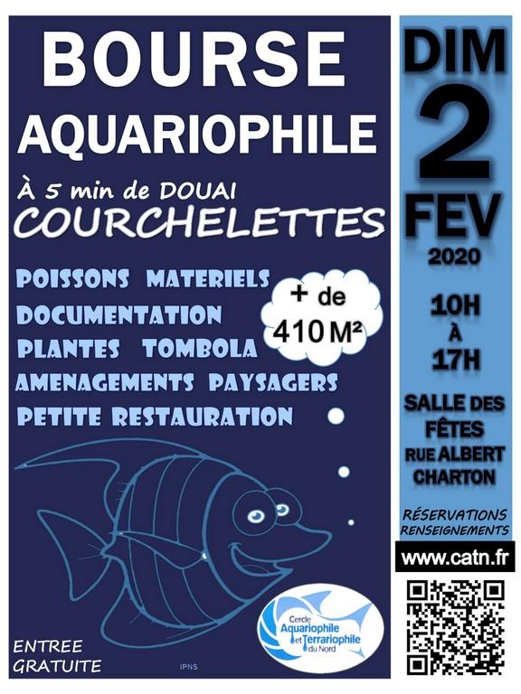 5eme Bourse aquariophile à Courchelette (59) le 2 février 2020 Affich10