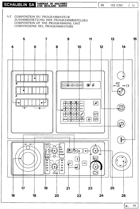 Schaublin 102 CNC  210