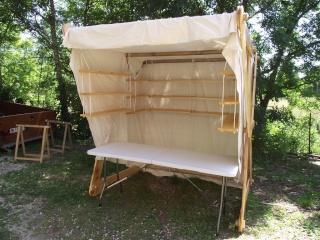 Réalisation d'une échoppe/tente viking - Page 2 Dscf5617