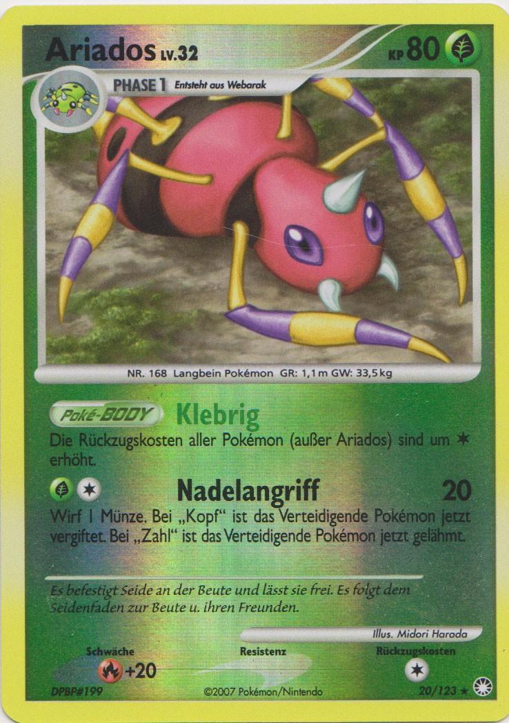 Zeigt her eure Pokemonkarten! Ariado10