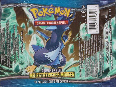 Hülle Bosterpack Pokémon Sammelkarten