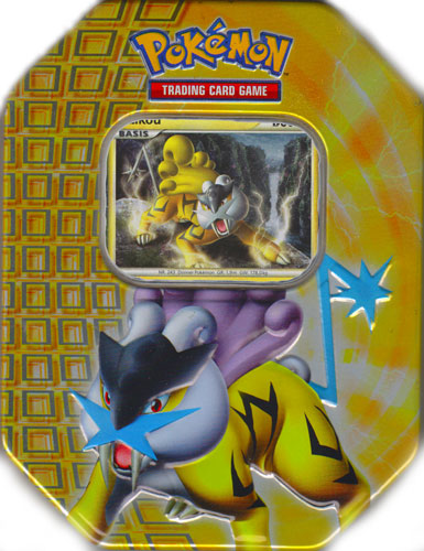 Pokémon Rakou Tin-Box