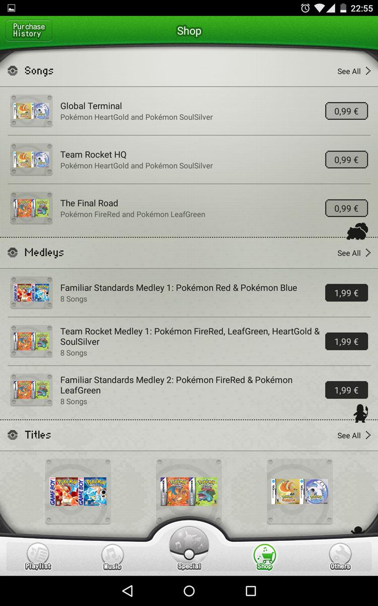 Pokémon Jukebox - Android App Pokemo15