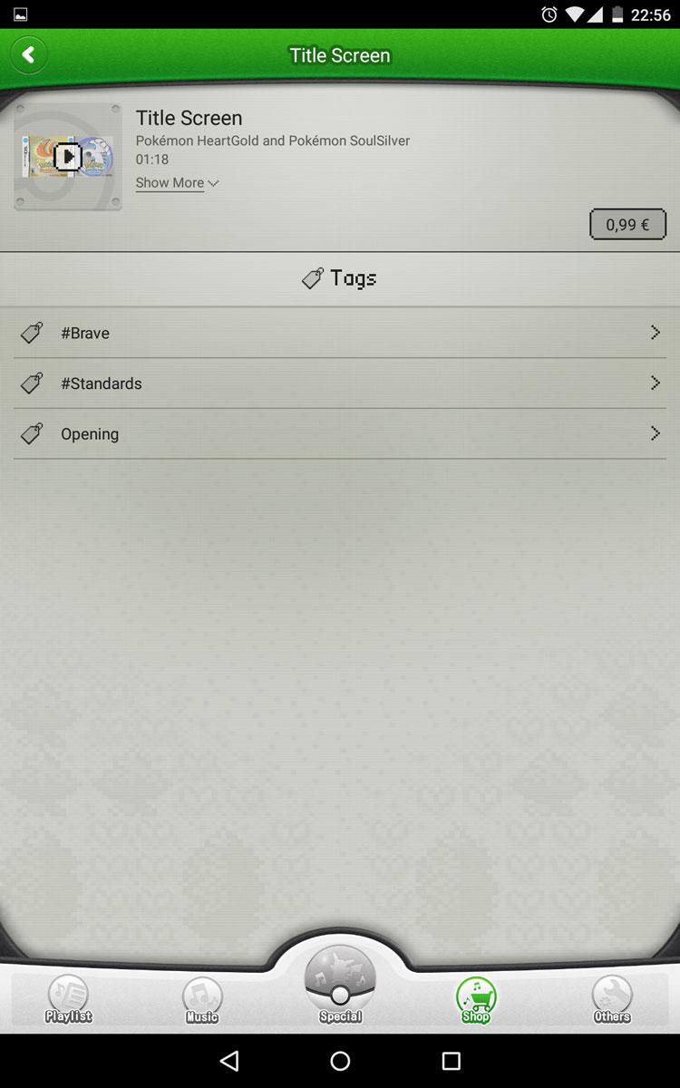 Pokémon Jukebox - Android App Pokemo17