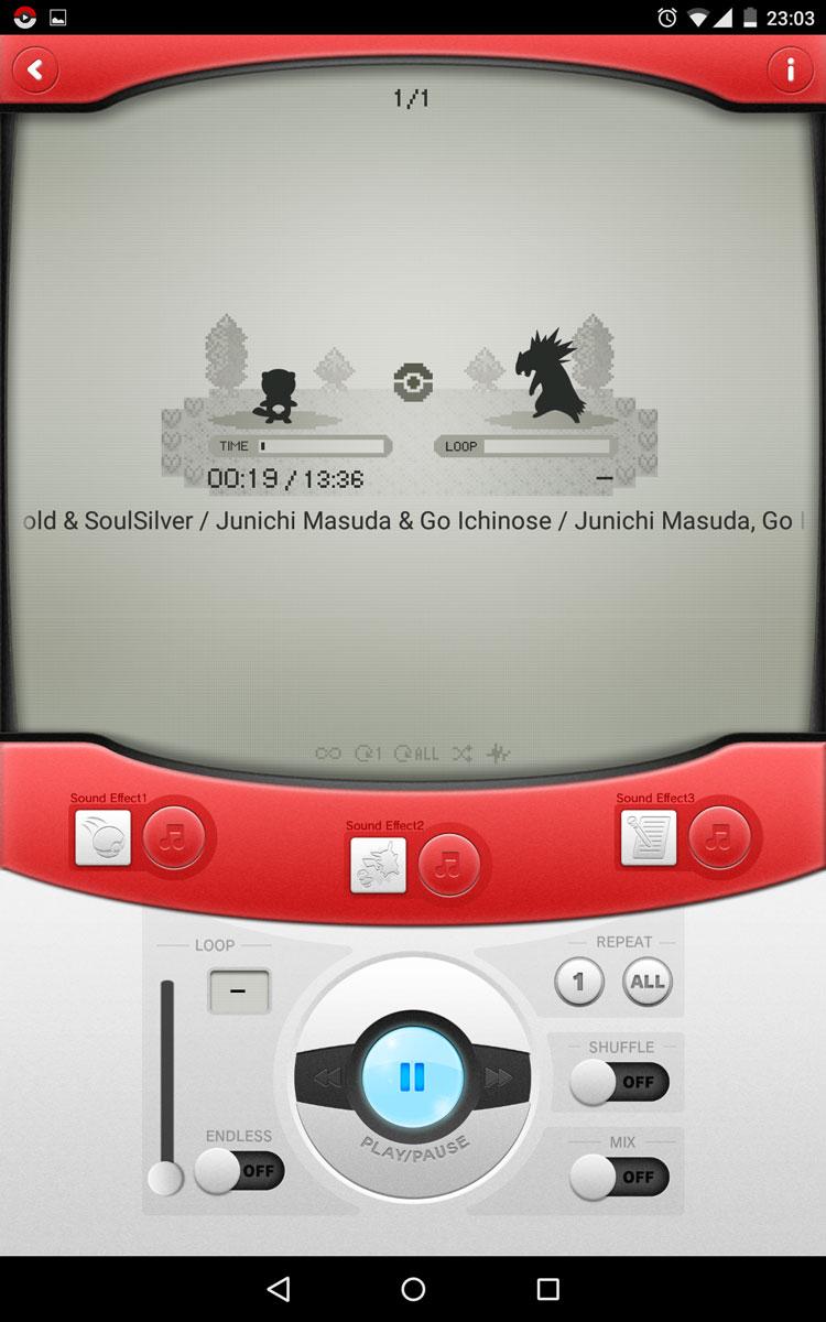 Pokémon Jukebox - Android App Pokemo18