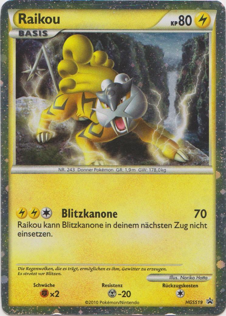 Zeigt her eure Pokemonkarten! Raikou10
