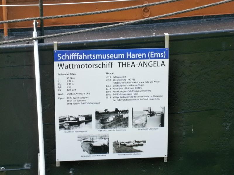 Museum-Schiffe in Haren nähe Meppen P7200026