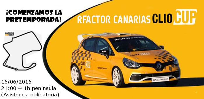 EVENTO INICIACION AL CAMPEONATO CLIO CUP Cartel10