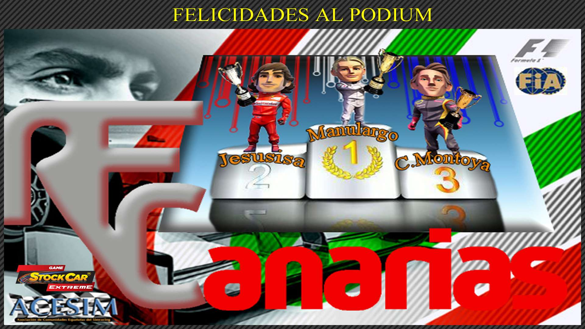 PRESENTACION GP F1-2015 Podium11