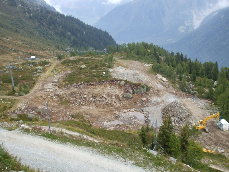 Construction retenue collinaire de la Flégère Dscf2510