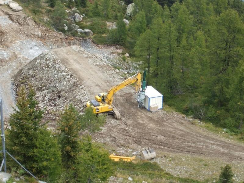 Construction retenue collinaire de la Flégère Dscf2511