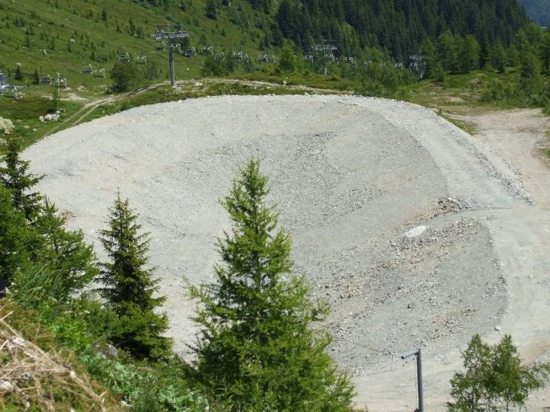 Construction retenue collinaire de la Flégère Dscf4511