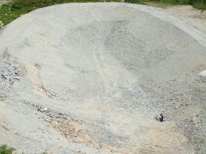 Construction retenue collinaire de la Flégère Dscf4513