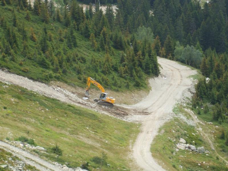 Construction retenue collinaire de la Flégère Dscf7811
