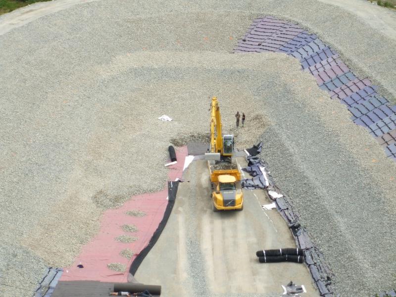 Construction retenue collinaire de la Flégère Dscf7813