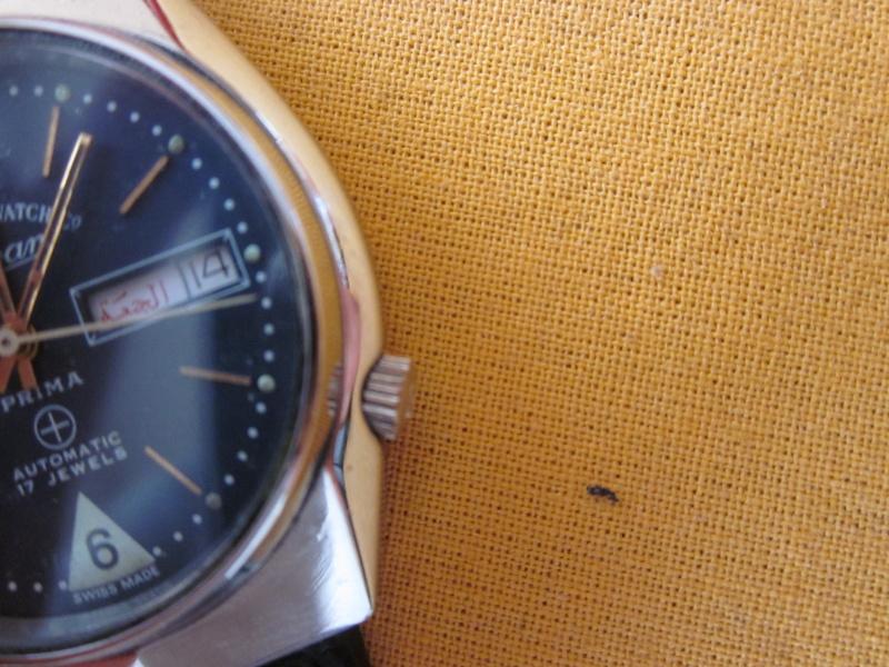 West-end, la montre de l'armée de Indes Remont10