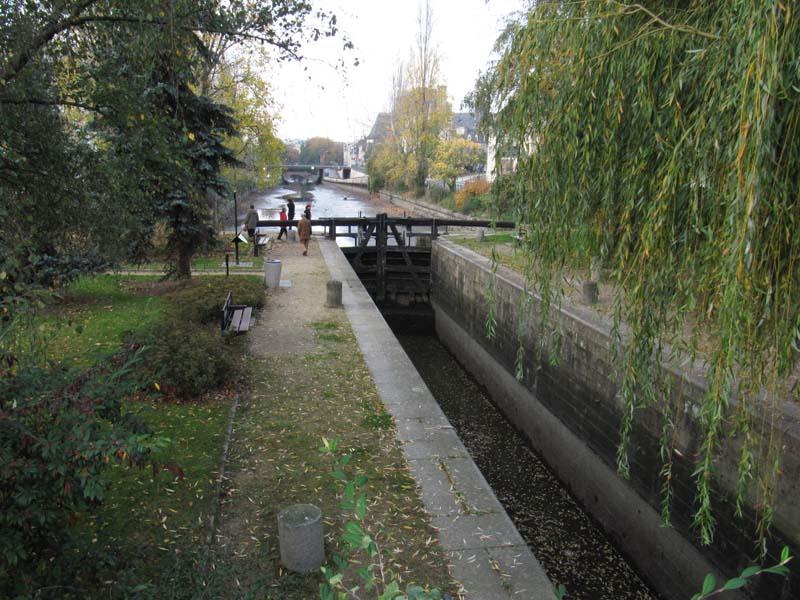 Le canal d'Ille et Rance Ecluse10