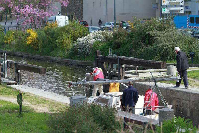 Le canal d'Ille et Rance Rennes20