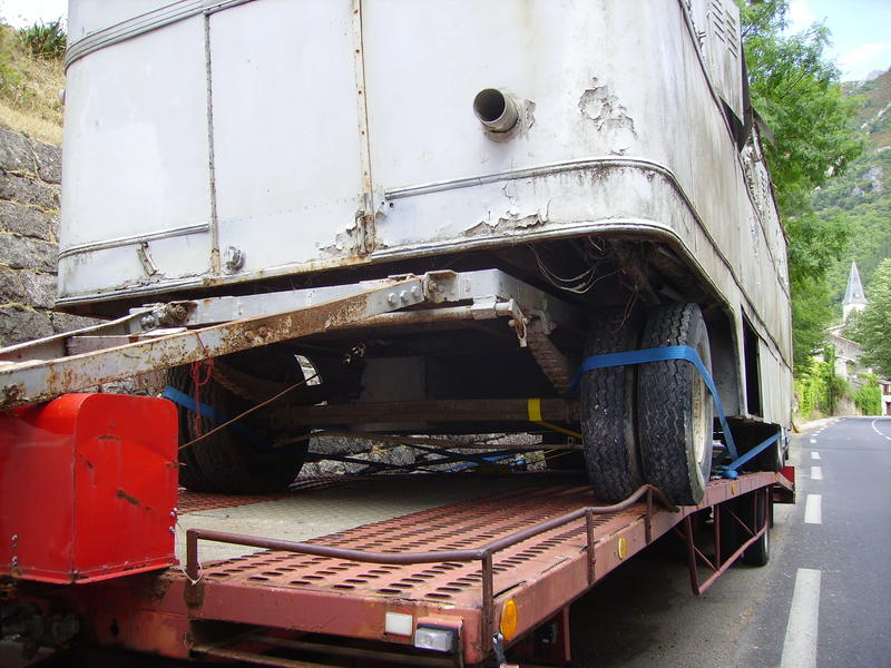 Convois routiers exceptionnels Convoi17