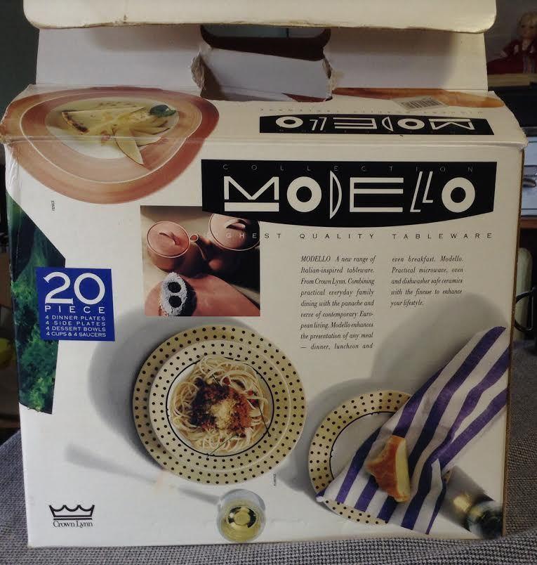 Modello Milano 20 pc NIB Mod211