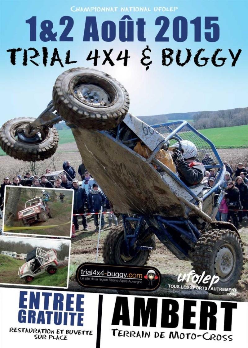 Trail 4x4 Ambert 1&2 août Affich10