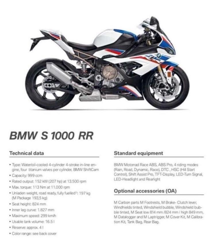 BMW S1000RR 2019 4566b010