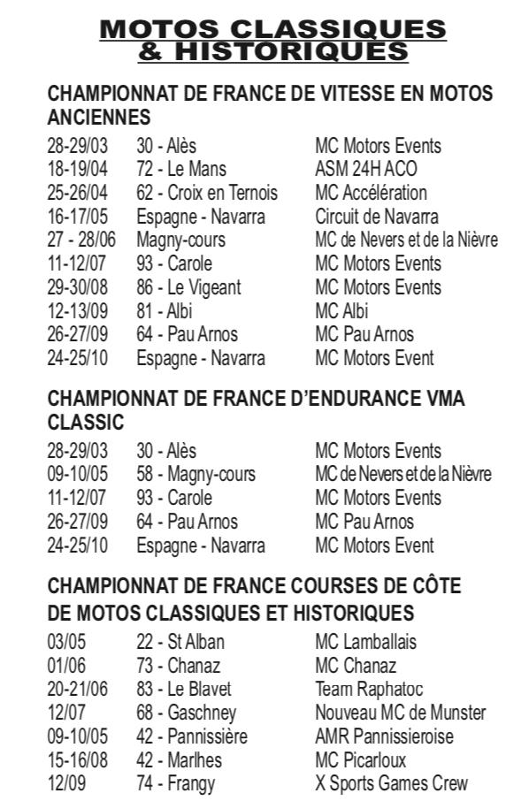 Calendrier Course Moto en France Captur49