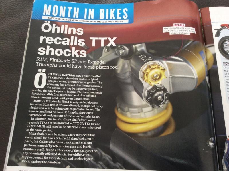 Ohlins rappelle ces TTX Image30