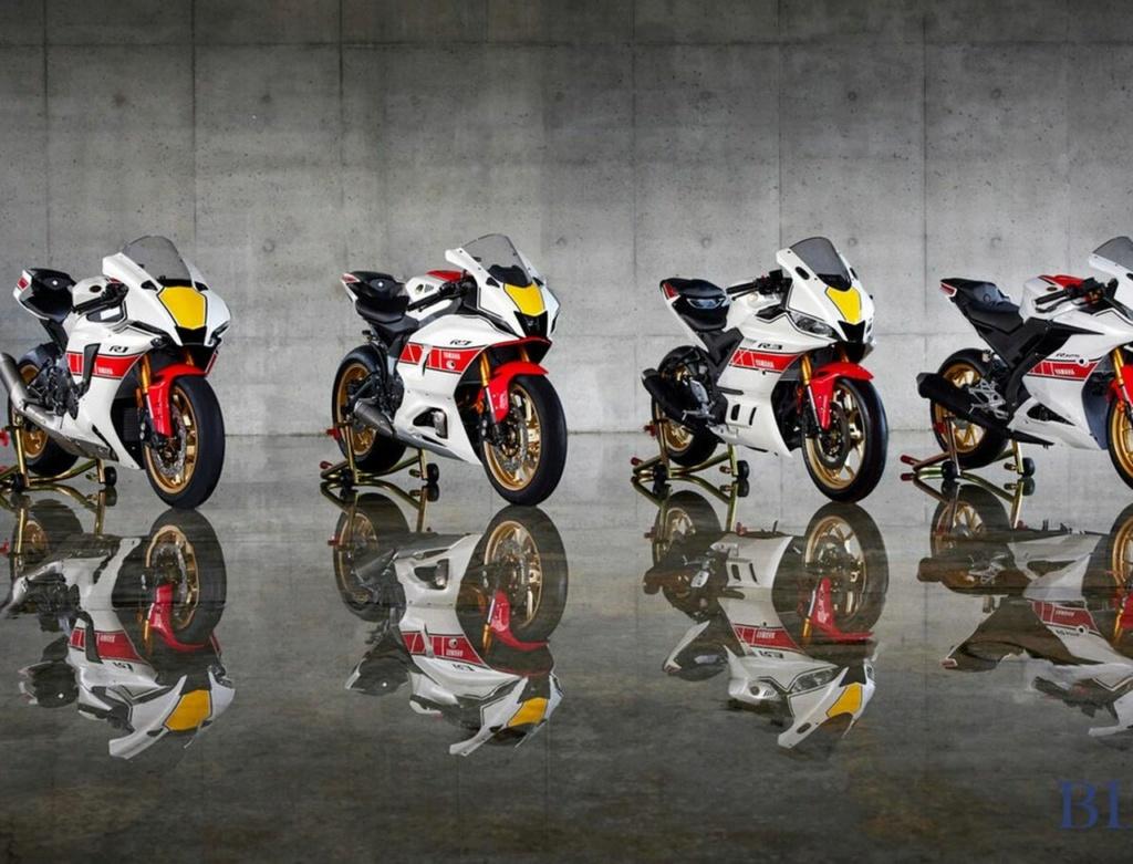 En 2022 la Série R de Yamaha  Yamaha22