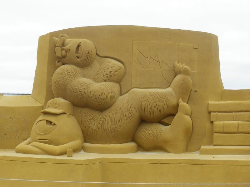"""""""Frozen Summer Fun""""  Le nouveau Festival de Sculptures de sable  du 13 juin au 6 septembre 2015 ... Imgp4318"""