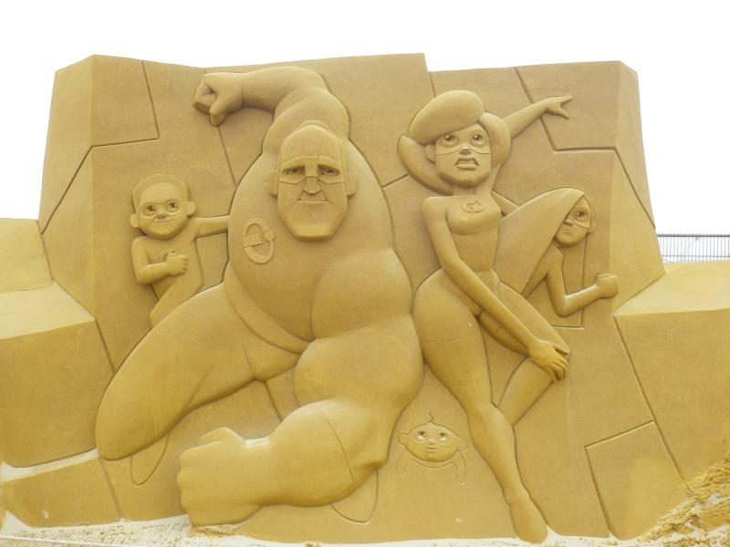 """""""Frozen Summer Fun""""  Le nouveau Festival de Sculptures de sable  du 13 juin au 6 septembre 2015 ... Imgp4321"""
