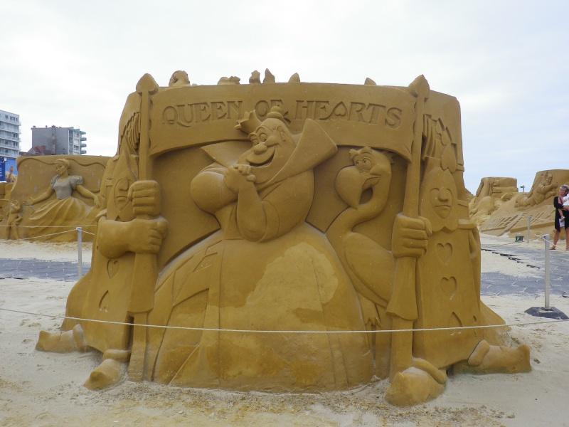 """""""Frozen Summer Fun""""  Le nouveau Festival de Sculptures de sable  du 13 juin au 6 septembre 2015 ... Imgp4323"""