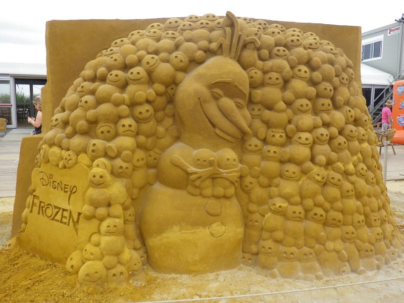 """""""Frozen Summer Fun""""  Le nouveau Festival de Sculptures de sable  du 13 juin au 6 septembre 2015 ... Imgp4329"""