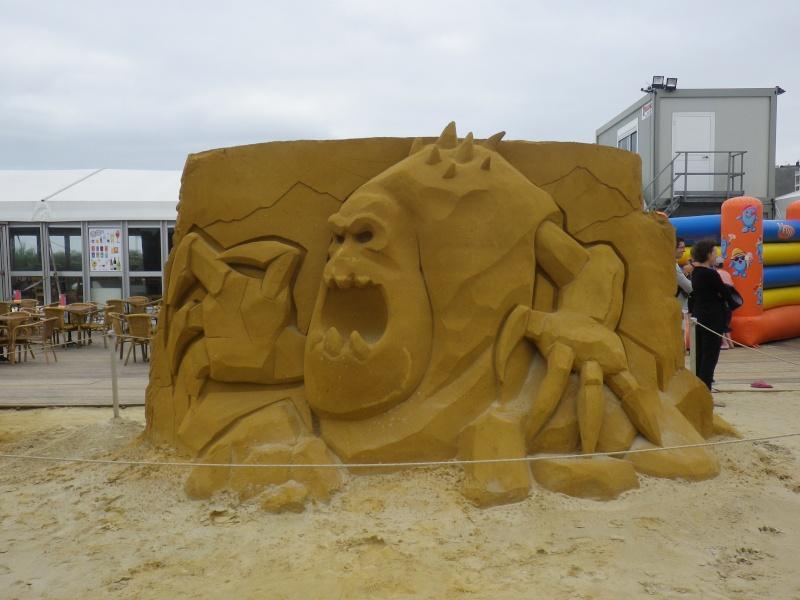 """""""Frozen Summer Fun""""  Le nouveau Festival de Sculptures de sable  du 13 juin au 6 septembre 2015 ... Imgp4335"""