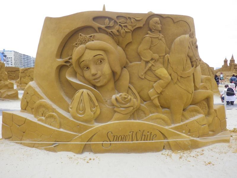 """""""Frozen Summer Fun""""  Le nouveau Festival de Sculptures de sable  du 13 juin au 6 septembre 2015 ... Imgp4338"""