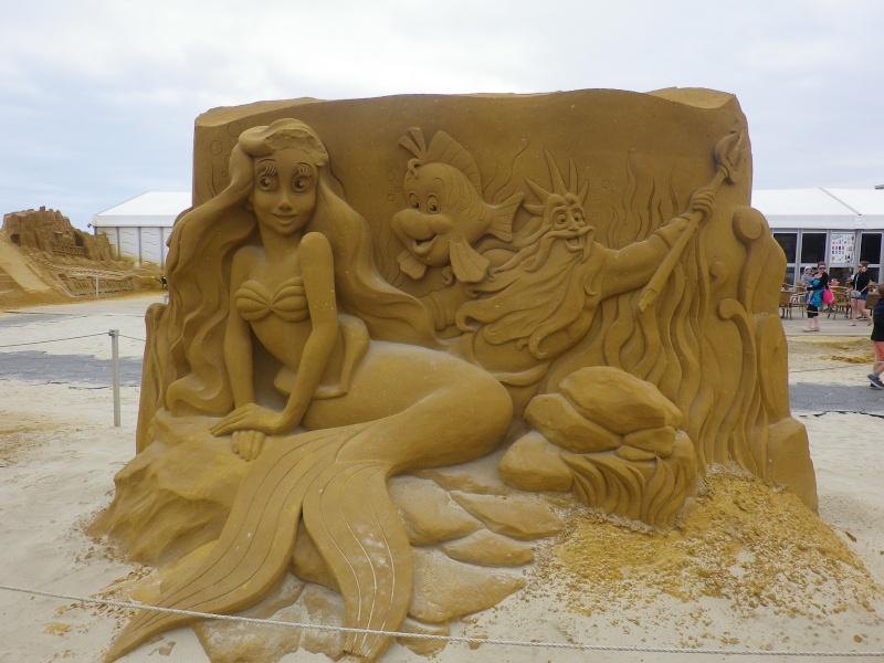 """""""Frozen Summer Fun""""  Le nouveau Festival de Sculptures de sable  du 13 juin au 6 septembre 2015 ... Imgp4341"""