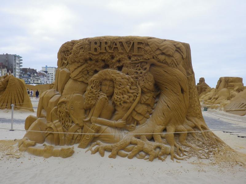 """""""Frozen Summer Fun""""  Le nouveau Festival de Sculptures de sable  du 13 juin au 6 septembre 2015 ... Imgp4344"""